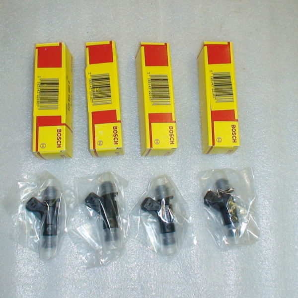 4 genuine bosch 42lb 440cc fuel injectors r52 r53 03 07. Black Bedroom Furniture Sets. Home Design Ideas