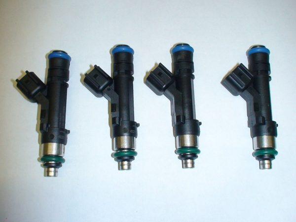 4 Bosch long 52lb 550cc fuel injectors Honda BMW VW Mazda Ford  Toyota GM dodge