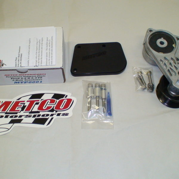 Metco Motorsports belt tensioner support plate and Ford ...